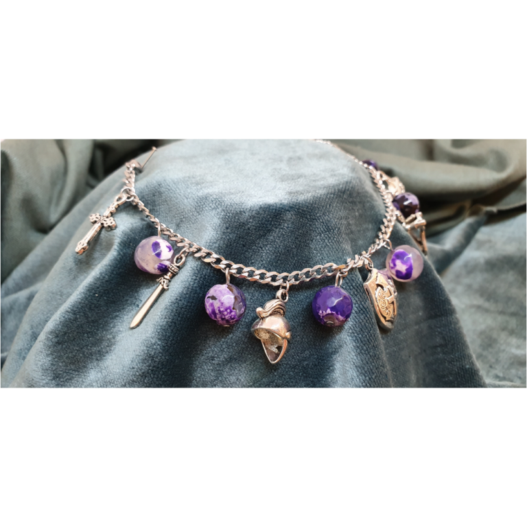 African Purple Beads - AOG