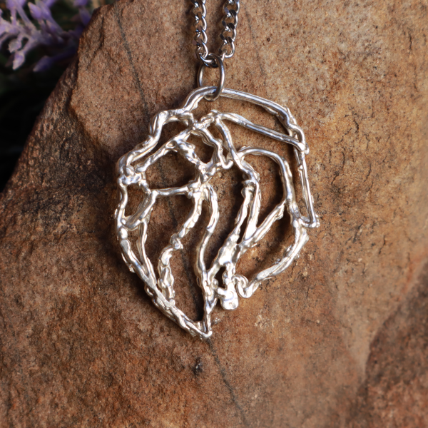 Big 5 Silver Pendant Range - Abstract Lion