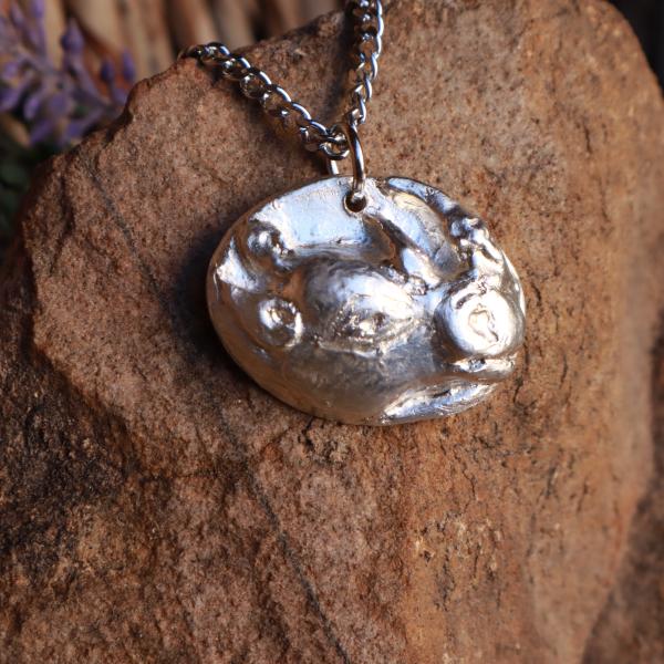Big 5 Silver Pendant Range - Rhino