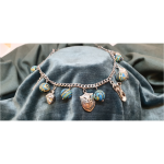 African Blue Green Beads - AOG