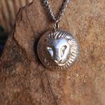 Big 5 Silver Pendant Range - Lion